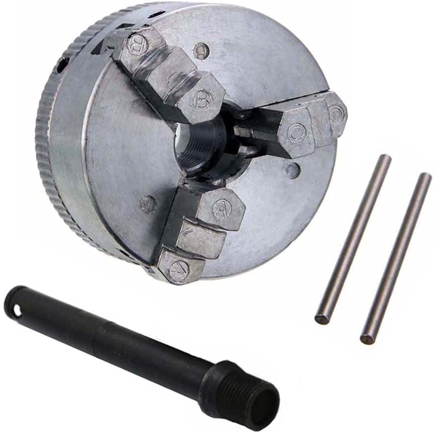 Z011 Mini Drill Chuck Max 74% OFF Zinc Alloy At the price of surprise Metal Self-Centering Manual 3-J