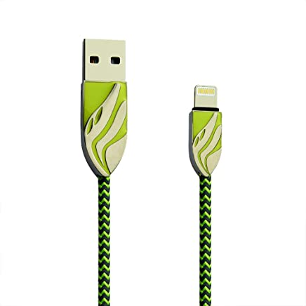 G-POWER ®GP-C 10 Premium SYNC/Charging Data Cable for Apple (Neon Green)