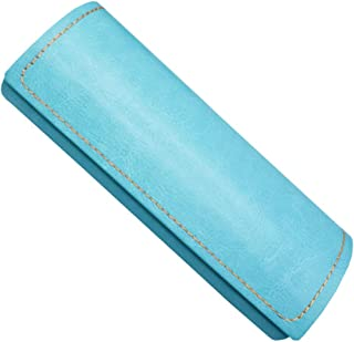 tama/ño mediano duradero resistente al polvo resistente al agua Tama/ño libre azul a la moda con ventosa magn/ética de piel sint/ética Estuche de cristal s/ólido multicolor /útil cuadrado