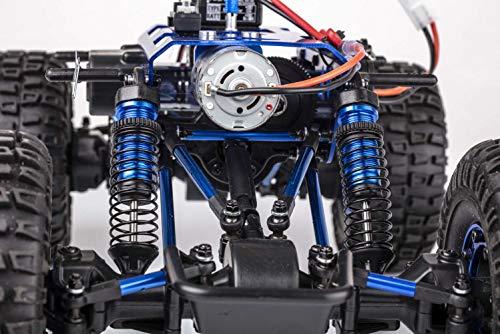 RC Auto kaufen Crawler Bild 4: Carson 500404169 500404169-1:10 X-Crawlee XL Beetle 2.4G 100% RTR, Ferngesteuertes Auto, RC, inkl. Batterien und Fernsteuerung, Crawler, Offroad, Robustes Fahrzeug, schwarz*