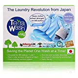 Laundry Detergent Eco Friendly [Made in Japan] Fragrance Free Natural Detergent Alternative for Baby, Sensitive Skin, hypoallergenic, and Organic, Reusable for 365 washes