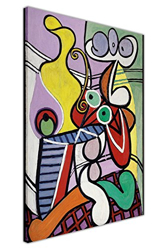 Canvas It Up Famoso Pablo Picasso Pittura Great Still Life Wall Art Immagini su piedistallo incorniciata su Tela Dimensioni: 101,6x 76,2cm (101cm x 76cm)