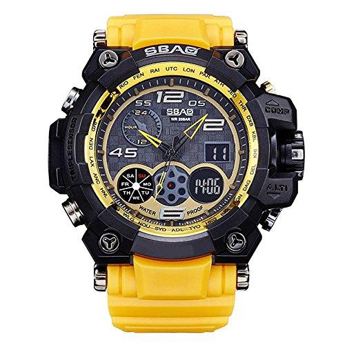 HWCOO SBAO Orologi Orologio da polso sportivo multifunzione con orologio sportivo da uomo (Color : 7)