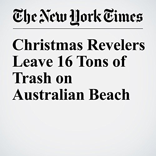 Christmas Revelers Leave 16 Tons of Trash on Australian Beach cover art