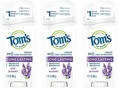 Tom s of Maine Long Lasting Aluminum Free Natural Deodorant for Women Wild Lavender 6 75 Ounce product image