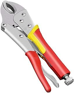 7//10 pulgadas Ronda Boca Prensa de presi/ón fija Pinzas de bloqueo de la llave de soldadura Alicates r/ápida herramientas que prensan Republe