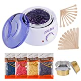 Best Home Waxing Kits - Hair Removal Waxing Kit, Wax Warmer with 4 Review