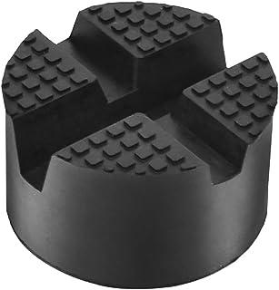 TONGXU Gummiblock rund mit Steckplatz Universal Car Jack Pad Adapter Gummipad Halterung für Hydraulik Katze Auto
