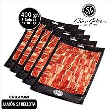 Jamón Loncheado 5J - Pack Jamón 5 Jotas Corte A Mano 80G. X5