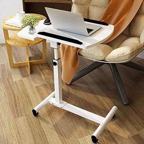 Mesa auxiliar plegable de café pequeña para ordenador portátil, escritorio, cama de aprendizaje, plegable para el hogar simple