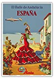 Pacifica Island Art - Spanien - Der Tanz von Andalusien -