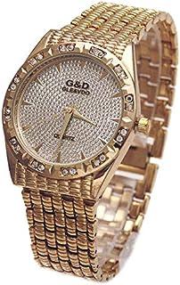 JINN-Women's Watches - G&D Top Brand Luxury Women Bracelet Watches Quartz Wristwatch Silver Steel Relojes Mujer Lady Dress...