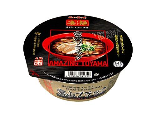 ニュータッチ 凄麺 富山ブラック 119g×12個