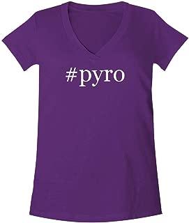 #pyro - A Soft & Comfortable Women's V-Neck T-Shirt