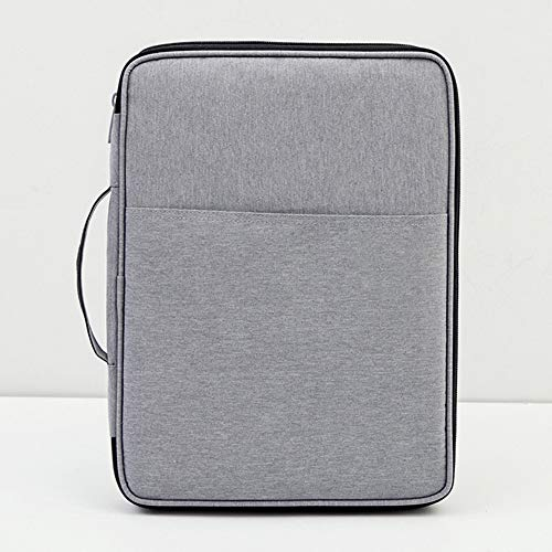 HINMAY 360° Beschermende Laptop Sleeve Case Aktetas Compatibel voor iPad, tablet en 12 inch Notebook Bag