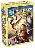 Asmodee Carcassonne - Burgfräulein & Drache, 3. Erweiterung, Familienspiel, Strategiespiel, Deutsch