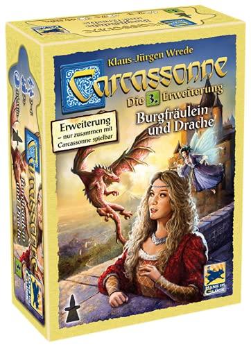 Asmodee Carcassonne - Burgfräulein &...