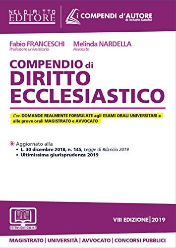 Compendio di diritto ecclesiastico. Con aggiornamento online