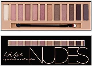 L.A. Girl Beauty Brick Eyeshadow, Nudes, 0.42 Ounce