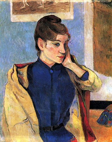 The Museum Outlet – Madeleine Bernard by Gauguin – Canvas Print Online Buy (76,2 x 101,6 cm)