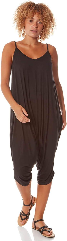 Dealing full Fort Worth Mall price reduction Roman Originals Women Jersey Strappy Midi Calf Hareem Jumpsuit