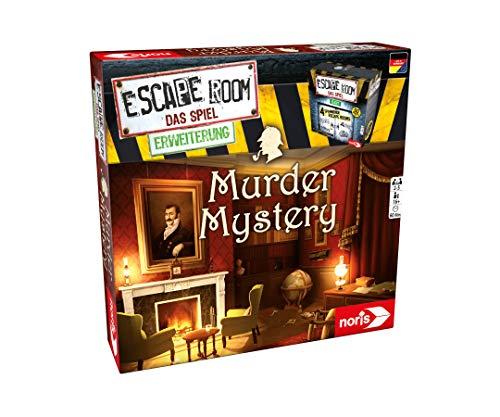 Noris - Escape Room uitbreiding Murder Mystery - Alleen met de Chrono Decoder spelbaar - vanaf 16 jaar