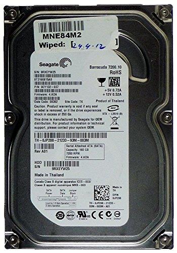 160GB Seagate ST3160815AS JP208 Internal HDD Festplatte 3.5 Zoll, SATA, BULK