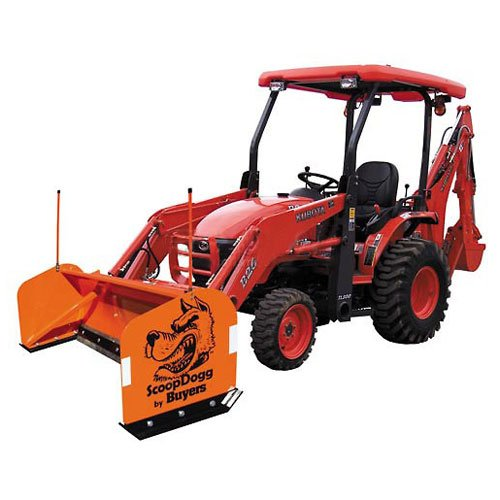 Buyers Products 2604106 Compact Tractor Snow Pusher 6' Wide