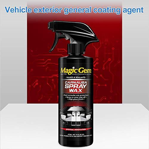 Hyack Sigillante Spray Sigillante Deep Gloss Sealant Wax Sealant per Protezione Auto Nuova