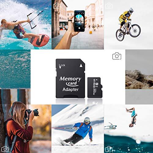 ANNKEEM TF Memory Card SDXC Speicherkarte bis zu 100 MB/s, Klasse 10, U3, SD-Adapter für Tablet, Action-Kamera(256GB)
