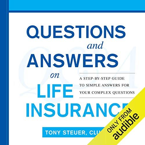 Questions and Answers on Life Insurance audiobook cover art