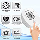 Omron HEM 7121J Fully Automatic Digital Blood Pressure Monitor with Intellisense Technology & Cuff Wrapping Guide for Most Accurate Measurement (White)