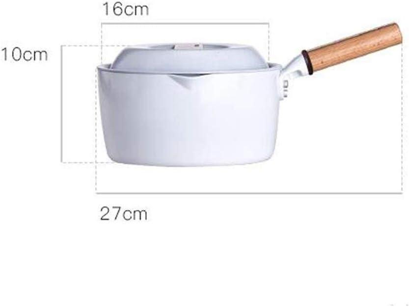 Récipient À Lait Récipient Antiadhésif Pour Bébé Complément À Casserole Récipient À Lait Multifonctionnel Pour Ménage GMING (Color : White) White