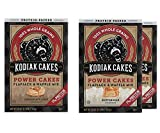Kodiak Cakes Protein Pancake Power Cakes Variety Pack, Flapjack and Waffle Baking Mix, Buttermilk (2), & Chocolate Chip (1), 3 Total Boxes