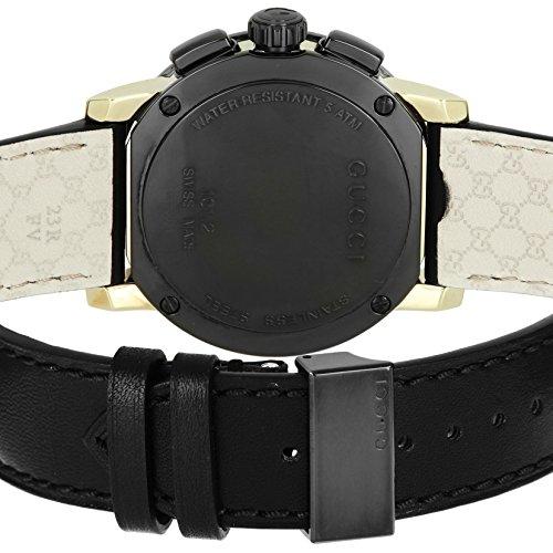 [グッチ]腕時計Gクロノブラック文字盤YA101203並行輸入品ブラック