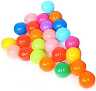 Awakingdemi Kid Ocean Ball,Colorful Soft Plastic Ocean Ball for Ball Pit Fun Ball Baby Kid Toy Swim Pit Toy