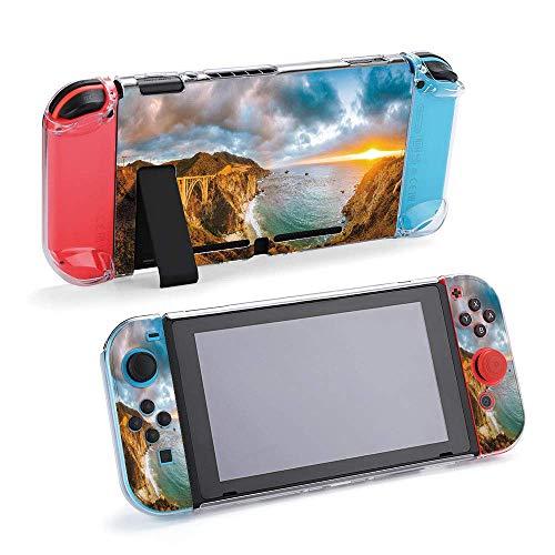 Vista panorámica panorámica de la costa central con compatible con consola Nintendo...