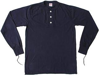 ヘルスニット Healthknit #906L L/S Sleeve Henley Neck 長袖 ヘンリーネック Tシャツ