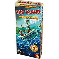 Asmodee- Juego de Tablero The Island Strikes Back (ADE0ISL02ML)