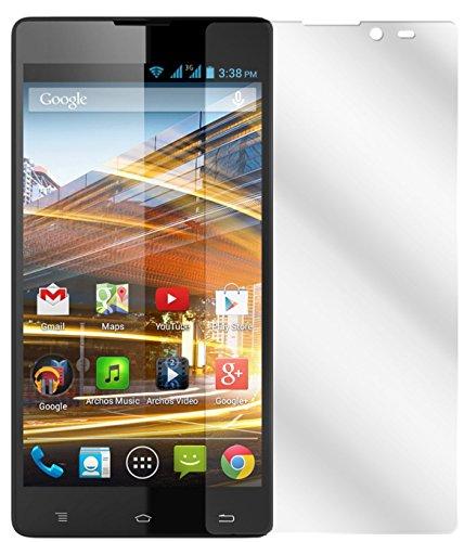 dipos I 2X Schutzfolie klar kompatibel mit Archos 50 / 50b Neon Folie Bildschirmschutzfolie