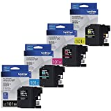 Brother LC-101 Ink Cartridge (Black,Cyan,Magenta,Yellow 4- Pack) set