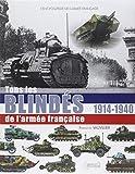 ENCYCLOPEDIE BLINDES ARMEE FRANCAISE (FR) 1914-40