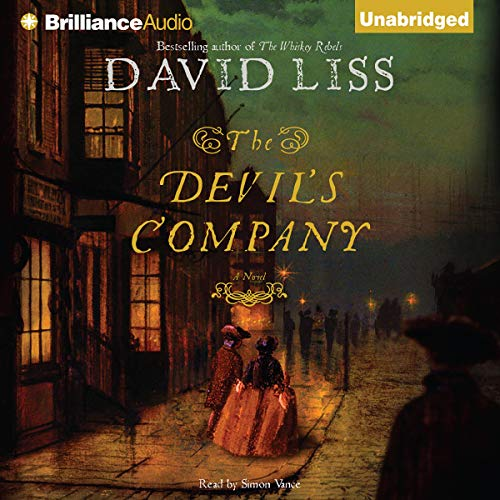 The Devil's Company audiobook cover art