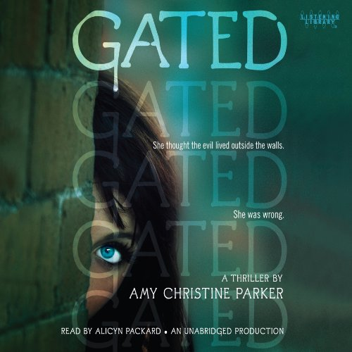Gated audiobook cover art