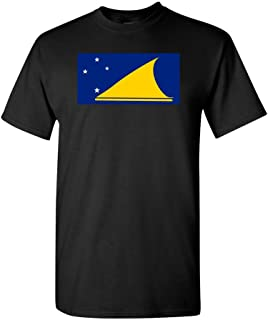 Tokelau Country Flag Adult DT T-Shirt Tee
