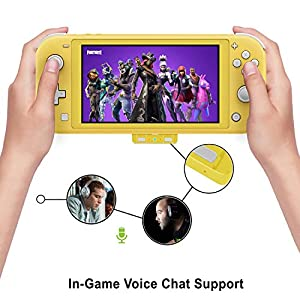 HomeSpot Bluetooth 5.0 Audio Transmitter Adapter with USB C Connector Built-in Digital Mic aptX Low Latency for Nintendo Switch Lite Yellow Accessories Compatible with AirPods PS5 Bose Sony