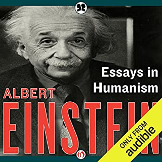 essays in science audiobook by albert einstein  audiblecom essays in humanism audiobook cover art