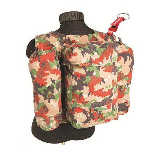 AOS-Outdoor ORIGINAL Schweizer Kleinrucksack Armee Rucksack Wanderrucksack City Bag Schlüsselanhänger