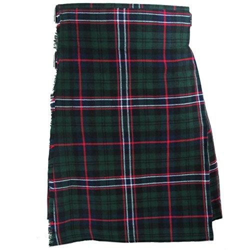 """Tartanista - Herren Kilts mit 61 cm (24"""") Länge - hochwertig - Scottish National - Taille (Nabelhöhe) 101,6cm (40""""), Länge 61cm (24"""")"""