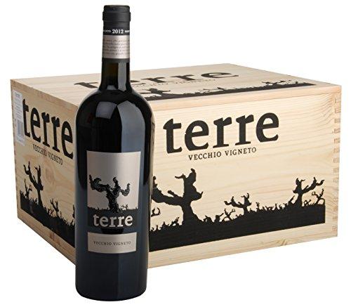 6x 0,75l (OHK) - 2015er - Terre - Vecchio Vigneto - Rosso - Puglia I.G.P. - Apulien - Italien - Rotwein trocken
